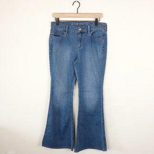 Old Navy Light Wash Flare Leg Jeans